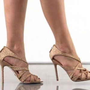 Badgley Mischka | Rose Gold Junebug Shoes | 7